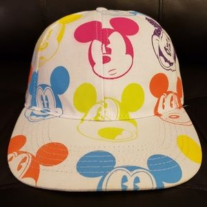Disney Authentic Mickey Mouse Snapback Hat